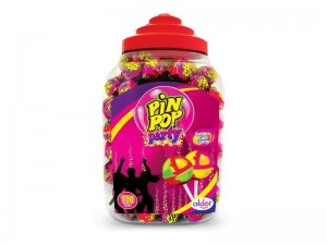 Lizak Aldor Pin Pop Party 100 szt