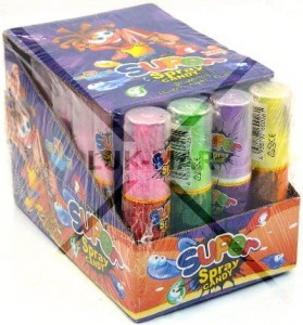 Spray Candy do ust 24 szt x 25 ml