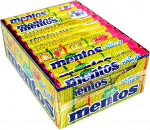Mentos Sour Fruits 40 szt