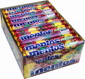 Mentos Cherry & Pineapple 40 szt