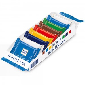 Ritter Sport Mini Bunter Mix 150 g DE