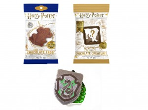 Harry Potter Zestaw Prezentowy Crest Tins Godło + Chocolate Creatures + Chocolate Frog